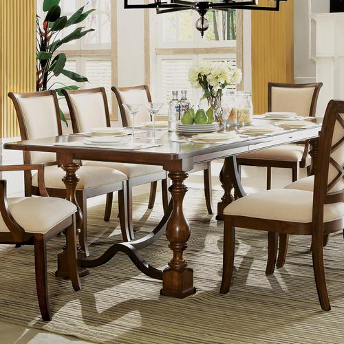 riverside furniture lawrenceville rectangular dining table ForDining Table With Leaf Insert