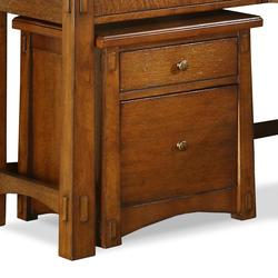 Craftsman Home 2 Drawer Mobile File Cabinet with Casters