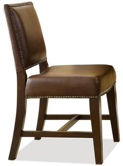 Latitudes Upholstered Desk Chair with Nailhead Trim