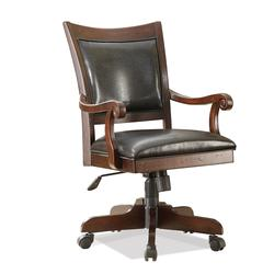 Castlewood Desk Chair with 5-Star Base and Upholstered Seat and Back