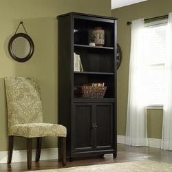 Edge Water Library Bookcase With 2 Doors