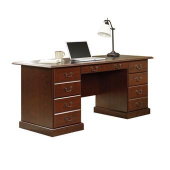 Sauder Heritage Hill Double Pedestal Executive Desk