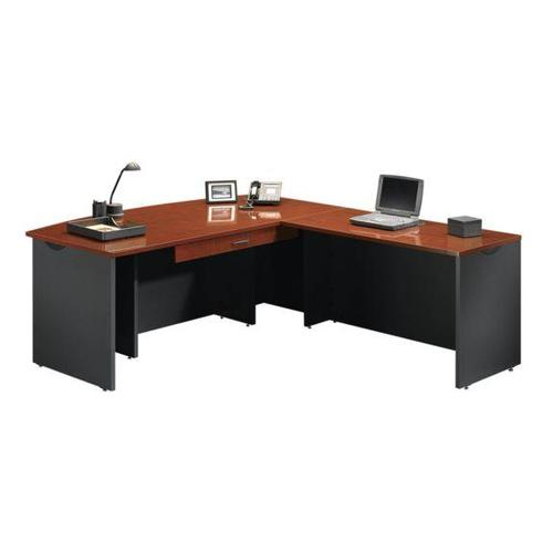 sauder home office executive desk with return and pencil