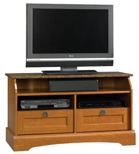 Sauder Graham Hill 2 Drawer Panel Tv Stand With 3 Shelves
