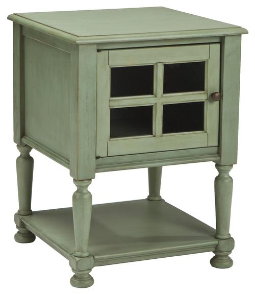 Signature Design By Ashley Cottage Accents Chair Side End Table With