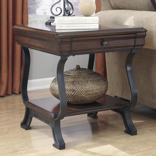 Signature Design by Ashley Hanform Rectangular End Table with