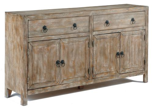 Rustic Accents Rustic Accent Cabinet In Distressed Finish