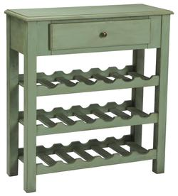 Cottage Accents Console with Wine Rack