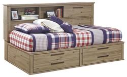 Dexifield Twin Bookcase Daybed