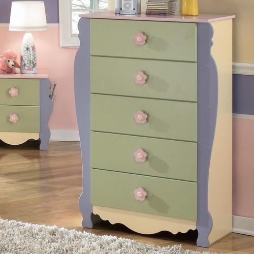 Signature Design By Ashley Doll House 5 Drawer Chest