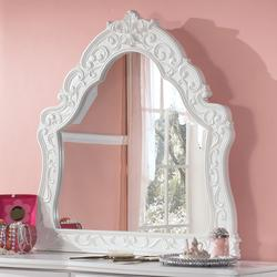 Exquisite Ornate Arched Bedroom Mirror