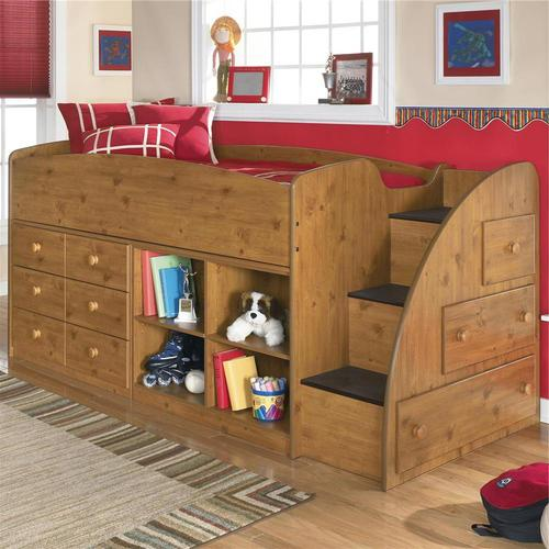 Signature Design By Ashley Stages Twin Loft Bed With Right