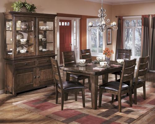 Signature design by ashley larchmont casual dining room group for Casual dining room decor