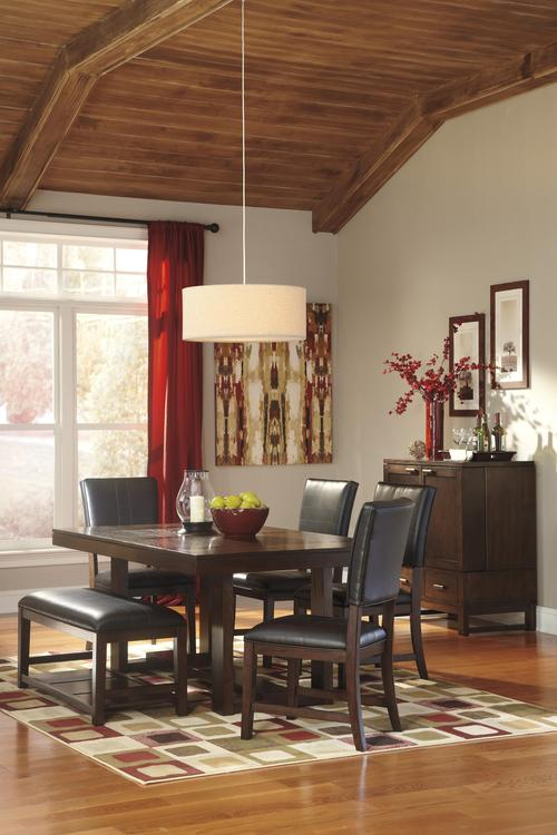 Signature design by ashley watson casual dining room group for Casual dining room decor