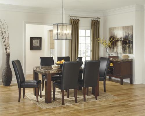 Signature design by ashley kraleene casual dining room group for Casual dining room decor