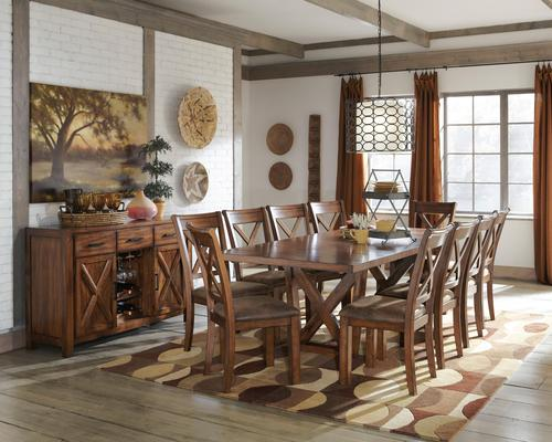 Signature Design By Ashley Waurika Casual Dining Room Group For