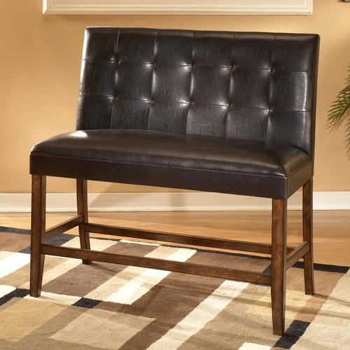 Signature Design By Ashley Lacey Upholstered Double Bar Stool