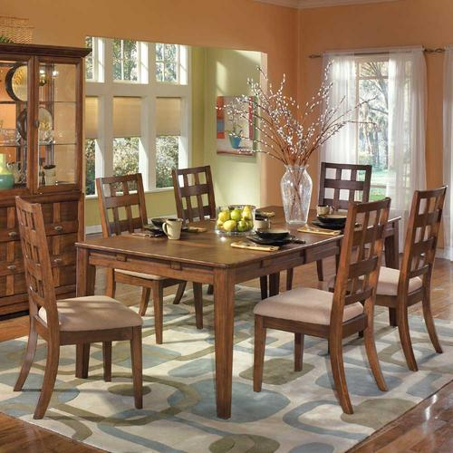 Clifton Park Rectangular Extension Table And 6 Side Chairs