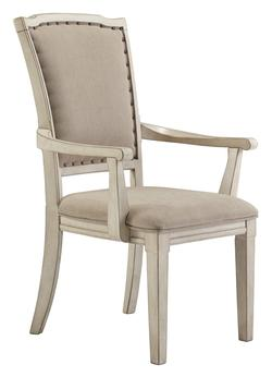 211410 Demarlos Transitional Dining Upholstered Arm Chair