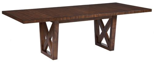 Waurika Rustic Rectangular Dining Room Extension Table