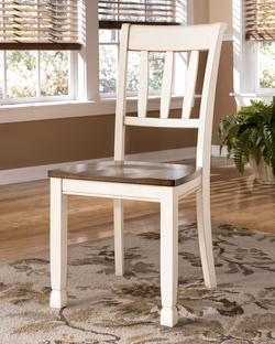 172000 Add To Cart Whitesburg Dining Room Side Chair W Two Tone Finish Slat Back
