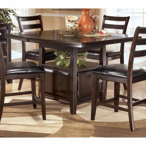 Signature design by ashley ridgley counter height table for 32 wide dining table