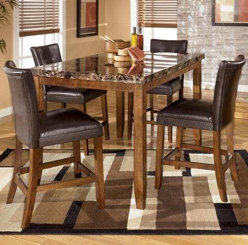 Signature Design By Ashley Lacey 5 Piece Counter Height Table Bar Stool