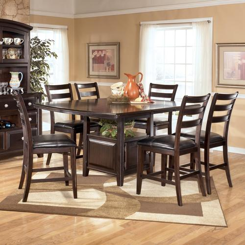 Ridgley 7 Piece Counter Height Table And Barstools Set