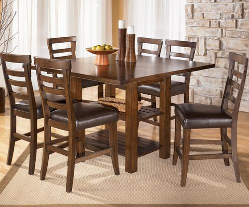 Signature design by ashley pinderton 7 piece square for 32 wide dining table