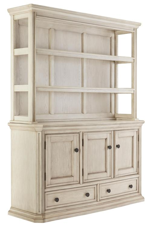 Demarlos Transitional Dining Room Server Hutch