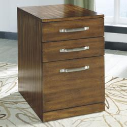 Lobink Contemporary Wood File Cabinet