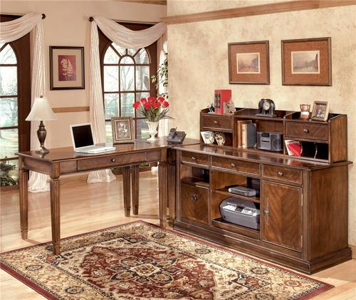 Hamlyn 4 Piece Modular L Shaped Desk