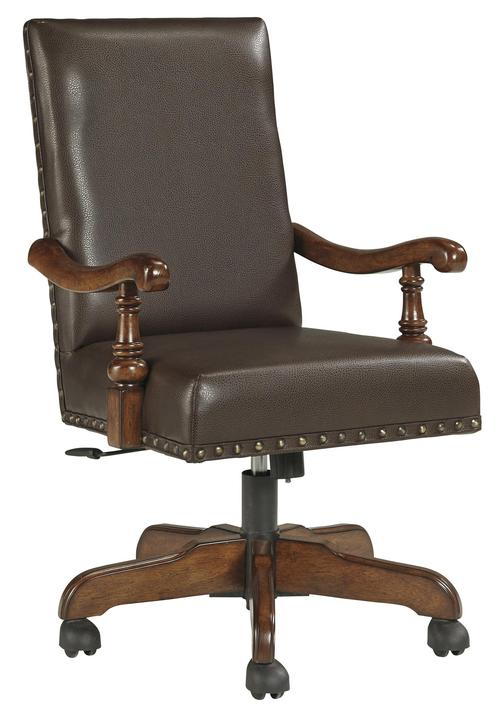 Signature Design By Ashley Gaylon Traditional Home Office Swivel Desk Chair