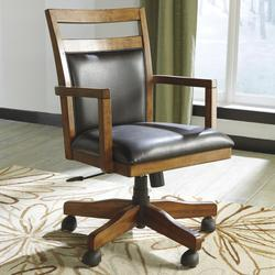 Lobink Home Office Desk Chair with Cutout Detail