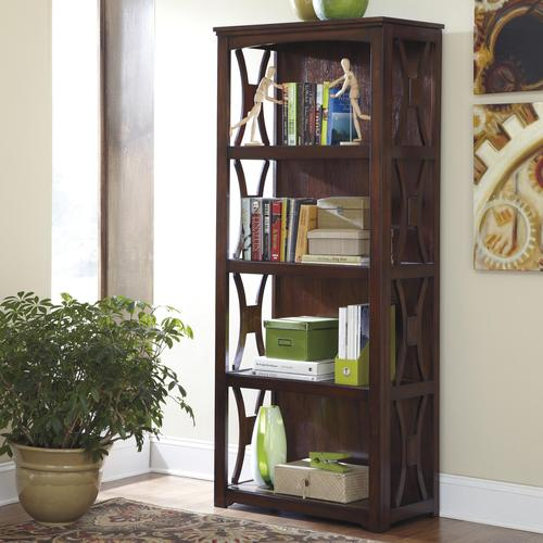 Signature Design by Ashley Devrik Storage Cabinet with Vented Pull ...