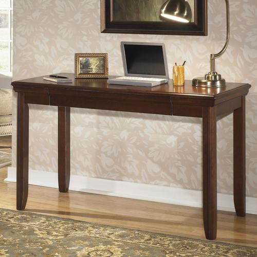 Signature Design By Ashley Daleena Home Office Small Leg Desk With Drop Down Compartment