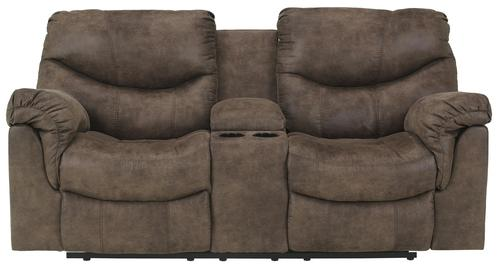 leather power reclining console loveseat from flexsteel double black without
