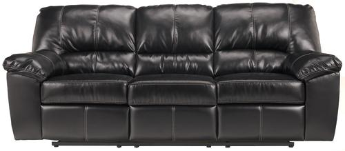 DuraBlend - Black Power Reclining Sofa with Pillow Arms  sc 1 st  Beverly Hills Furniture & Signature Design by Ashley DuraBlend - Black Power Reclining Sofa ... islam-shia.org