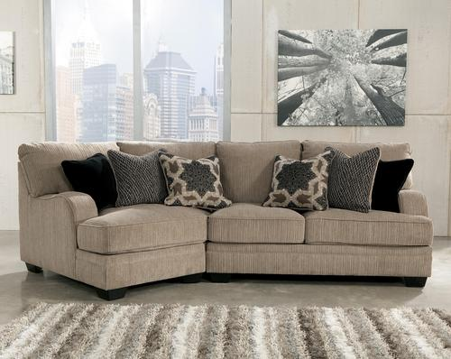 Signature Design by Ashley Katisha Platinum 2Piece Sectional