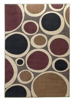 Contemporary Area Rugs Popstar - Plum Small Rug
