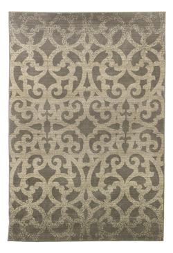 Transitional Area Rugs Garek Brown Medium Rug