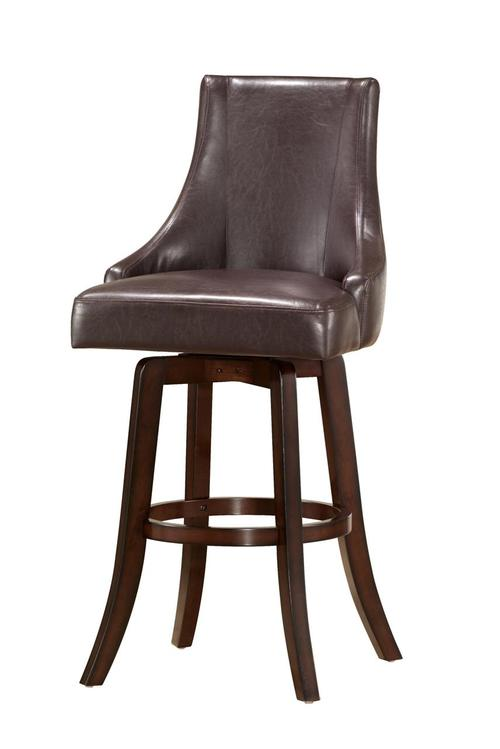 Steve Silver Brooks Contemporary Upholstered Swivel Bar Stool : BK550CCBR from www.luisfurniturestyle.com size 500 x 749 jpeg 22kB