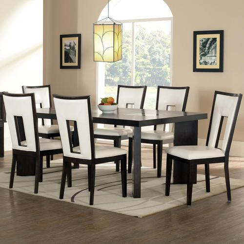 Delano 7 Piece Contemporary Dining Table And Chair Set
