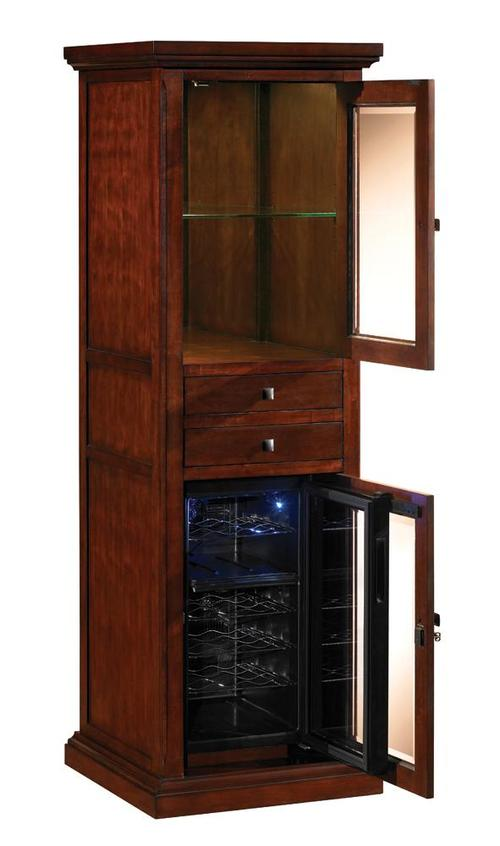 Tresanti meridian refrigerated wine cabinet for Furniture zone jamaica ny