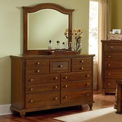 shutters dresser with 7 drawers arched mirror bedroom dresser mirror