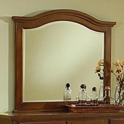 Shutters Arched Mirror - Beveled Glass