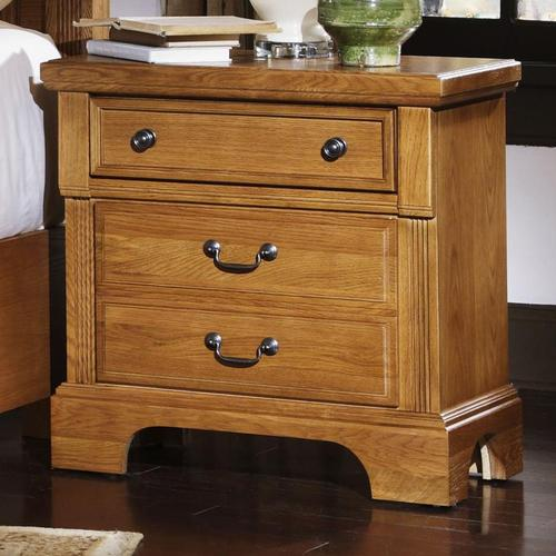 Vaughan Bassett Lancaster 2 Drawer Night Stand