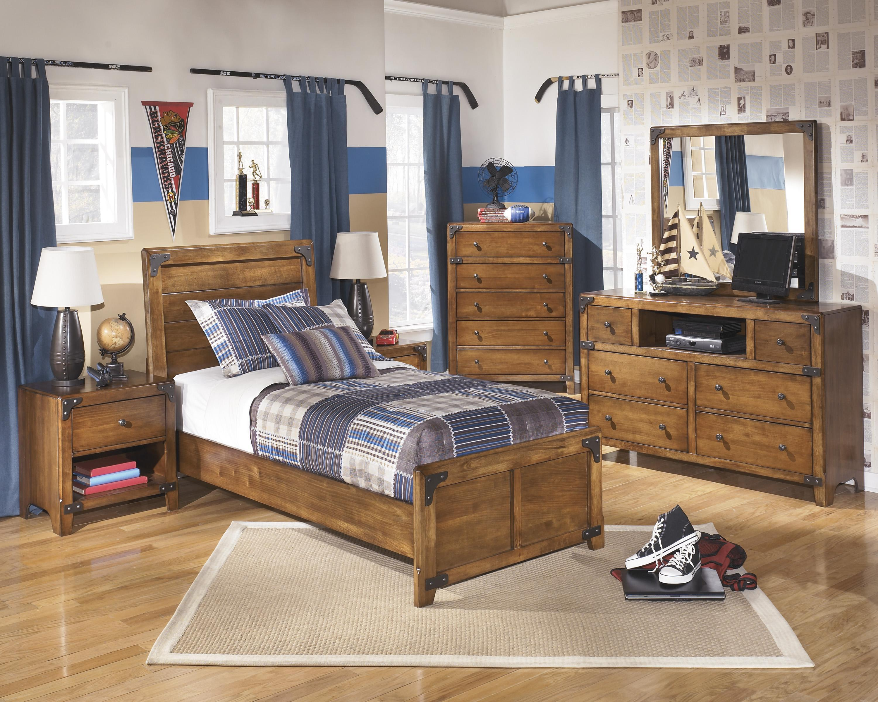 Bedroom Group Signature Design By Ashley Barchan Full Bedroom Group Bed Mattress Sale