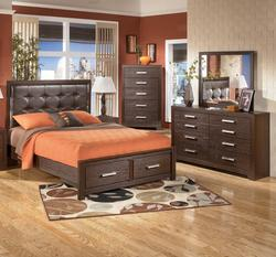 Aleydis 4 Piece Queen Bedroom Group