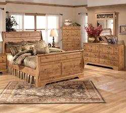 Bittersweet 4 Piece King Sleigh Bedroom Group